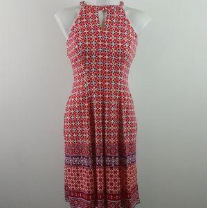 Wisp Stitch Fix Cyndie Jersey Dress Coral(4)NWT